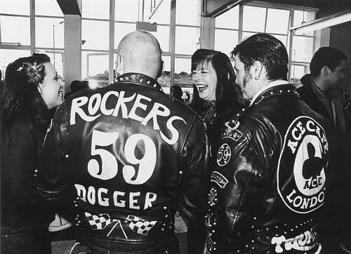 """Именно любовь к... Изначально слово  """"рокер """" звучало как обзывательство."""